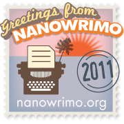 NaNoWriMo Web Badge (2011)