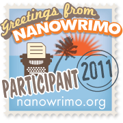 NaNoWriMo 2011 participant for a young adult novel