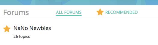 Writer forums